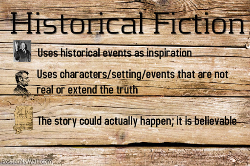 Historical Fiction to Describe a Crime from the Past